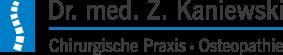 Dr. med. Z. Kaniewski Chirurgische Praxis / Osteopathie